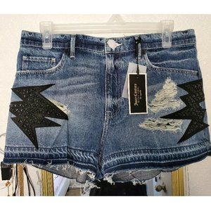 Juicy Couture Gossip Pop Patched Shorts 30